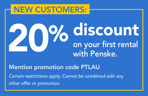 Penske discount coupons