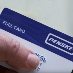 Penske Truck and fuel