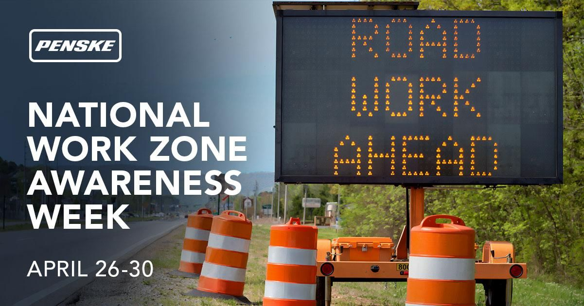 National Work Zone Awareness Week banner