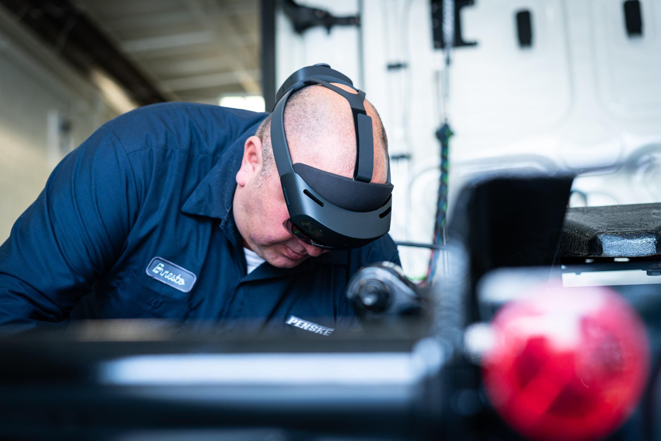 Penske AR maintenance trainer